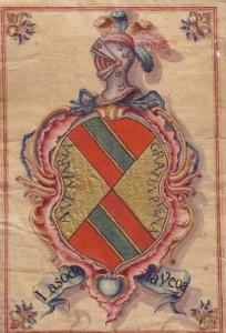 laso de la vega escudo heráldico