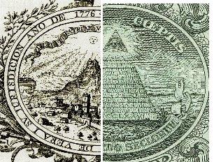 1776. EMBLEMAS. UNA CURIOSA COINCIDENCIA. LA SOCIEDAD PATRIÓTICA DE AMIGOS DEL PAÍS DE VERA Y LA MASONERÍA NORTEAMERICANA