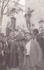 Paso procesional delñ Cristo de la Misericordia, 1935