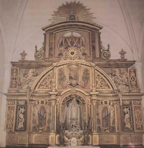 Retablo de Nuestra Señora de la Victoria , en la iglesia parroquial Vera