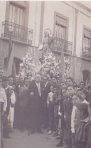 San Juan Evangelista, año 1935, destruida en 1936