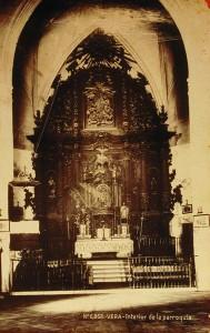 retablo iglesia Vera