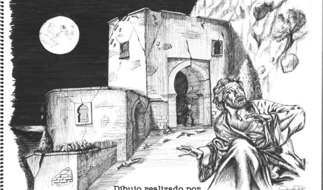 TEXTOS Y DIBUJOS PARA EL ANIVERSARIO DEL TERREMOTO DE 1518. versión inglesa