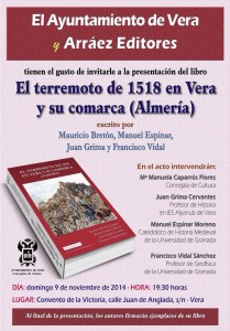 presentación libro terremoto 1518