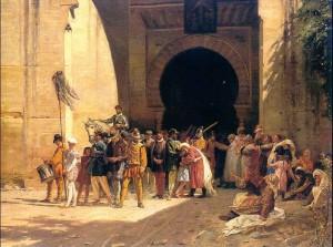 Expulsion_moriscos fortificación lienzo