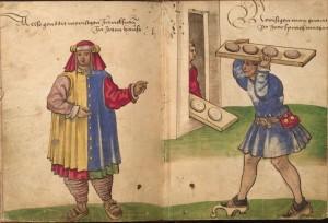 Weiditz_Trachtenbuch_103-104 morisco llevando pan peq
