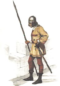 Lancero de la Santa Hermandad en 1488.