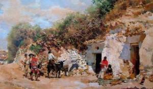 hábitat troglodita gitano en Los Pichiriches