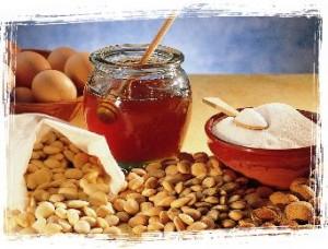 miel y almendras