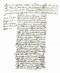Acta entrega ermita s. Ramon 1731