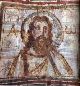 Christ_with_beard catacumba comodilla fin iv