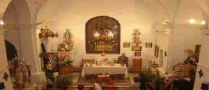 Interior ermita san ramon