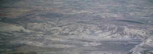 La cañada del Salar, impronta del antiguo cauce geológico