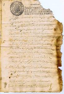 Testamento Juan de Haro 1