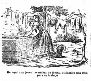 lavandera horta