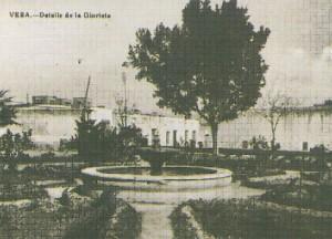 La Fuente de La Glorieta en 1933.