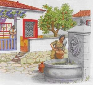 Una fuente pública de época romana