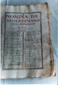 Libro de Hermandad