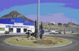 Rotonda musealizada 'Calzada Romana'