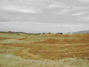 desmontes cerca yacimiento arqueológico