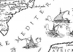 mapa localización Vera.