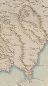 mapa localizacion Vera