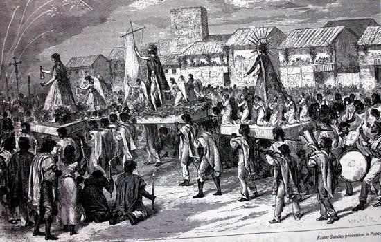 1816. BANDO DE ALCALDÍA SOBRE LA SEMANA SANTA EN VERA