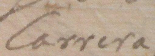 CALLE DE LA CARRERA (1687) Y CALLE ESCARRAMAR (1614). ORIGEN