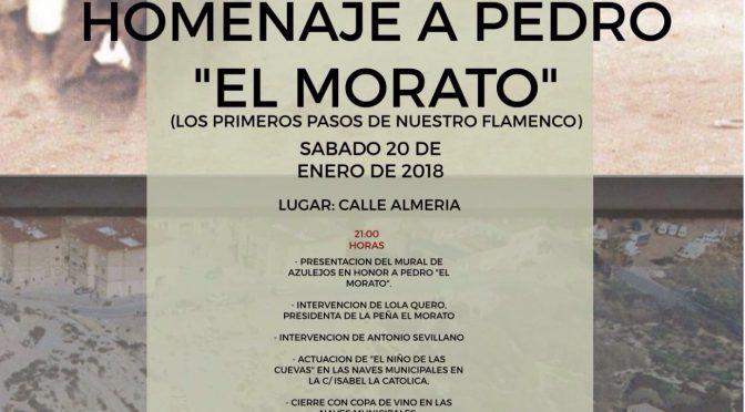 HOMENAJE A PEDRO 'EL MORATO'. CALLE ALMERÍA. 20-01-2018