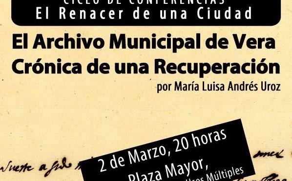 CONFERENCIA DE MARÍA LUISA ANDRÉS UROZ, ARCHIVERA