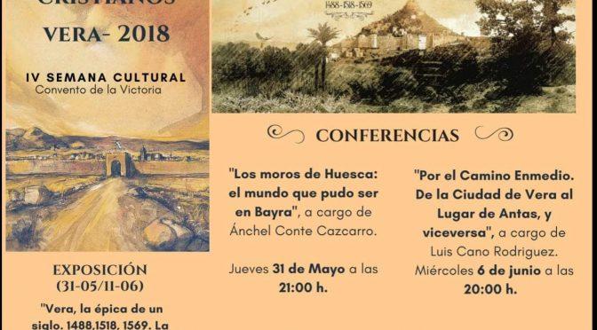 CONFERENCIAS MOROS Y CRISTIANOS VERA 2018