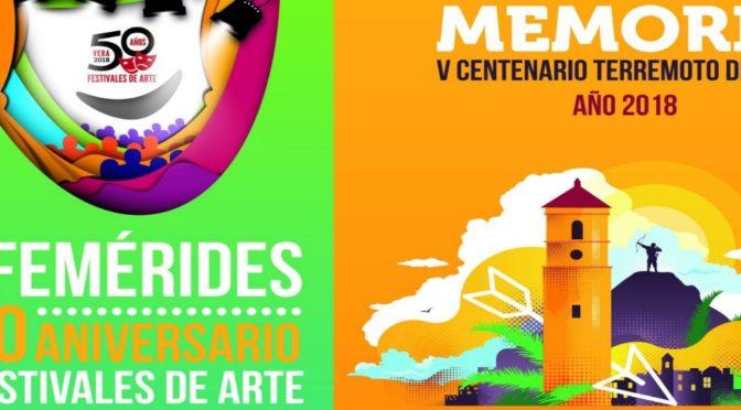 PRESENTACIÓN DE REVISTAS DEL AÑO DE LA CULTURA. 50º ANIVERSARIO FESTIVALES DE ARTE Y V CENTENARIO
