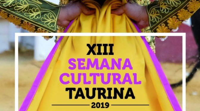 XIII SEMANA CULTURAL TAURINA. 2019. FRANCISCO AGUADO. PERIODISTA Y ESCRITOR