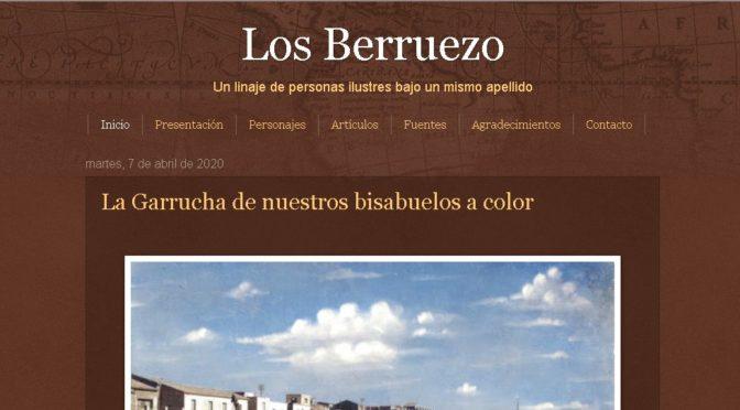 BLOG DE LOS BERRUEZO. HERRAMIENTA DE CALIDAD PARA EL ESTUDIO DE GARRUCHA Y LA COMARCA DEL LEVANTE ALMERIENSE