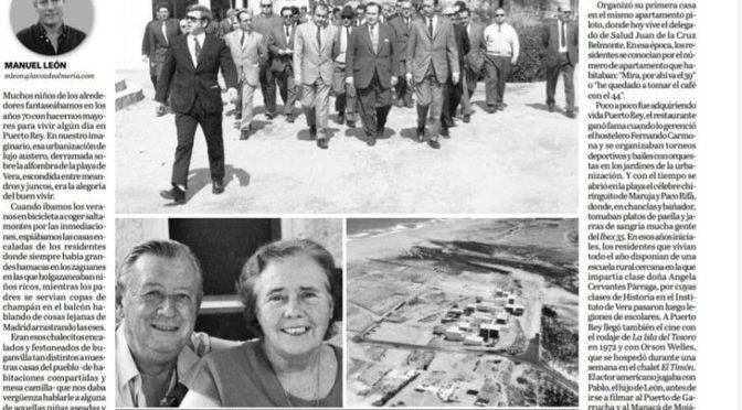 LA HISTORIA DE PUERTO REY. Manuel León