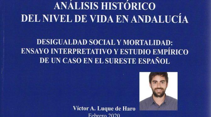 NIVEL DE VIDA EN EL SURESTE. TESIS DOCTORAL DE VÍCTOR ANTONIO LUQUE DE HARO